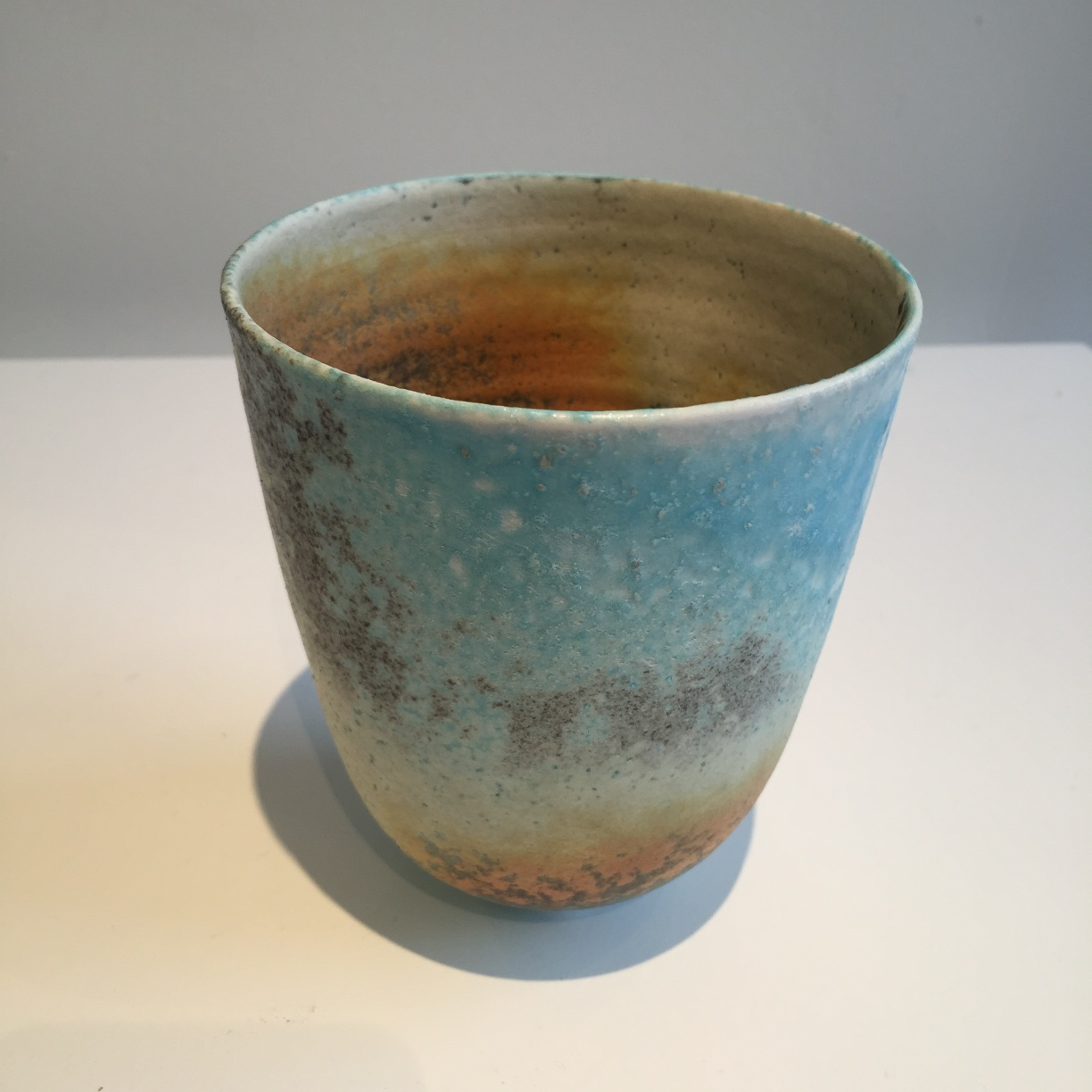 Jack Doherty, Conical Bowl, soda fired porcelain, 10 x 12cms, EUR 170