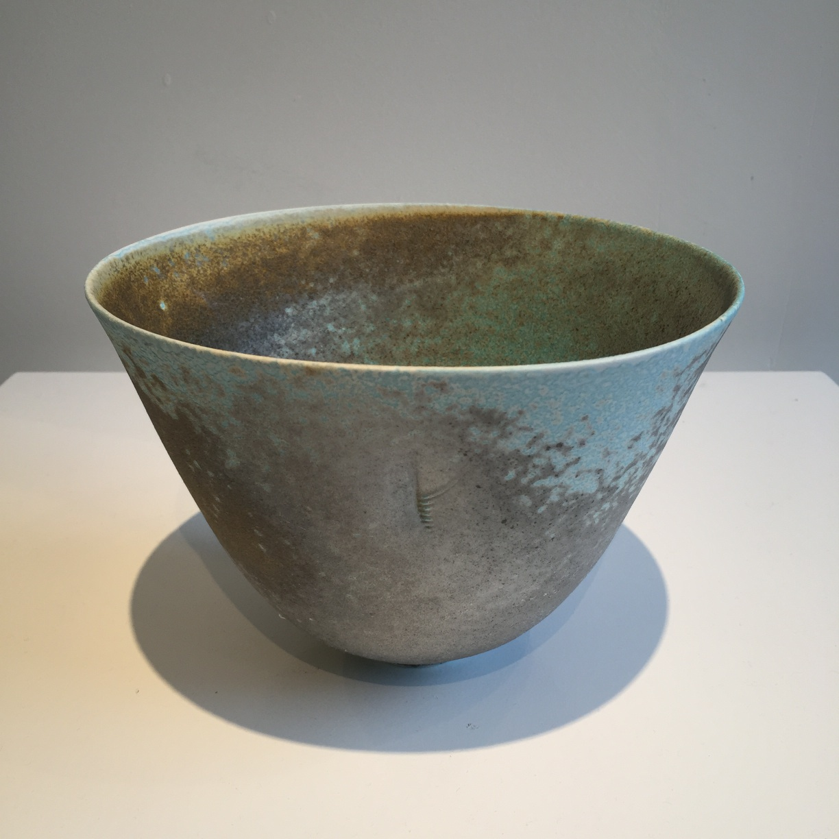 Jack Doherty, Conical Form 1, soda fired porcelain, 19 x 14cms, EUR320