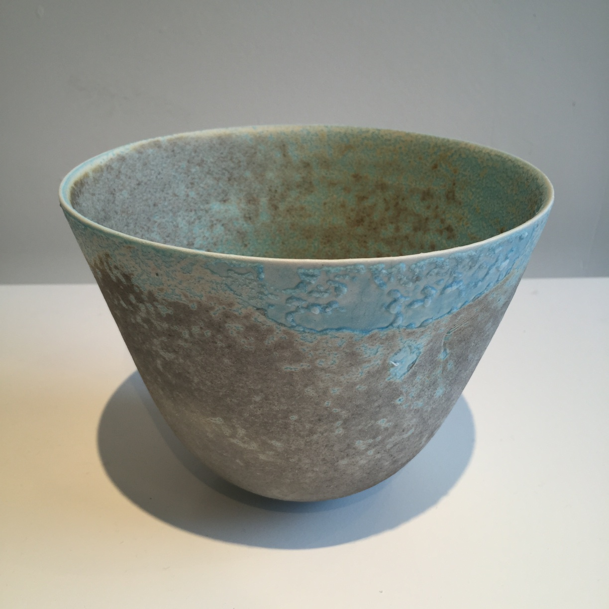 Jack Doherty, Conical Form 2, soda fired porcelain, 17 x 13cms, EUR260