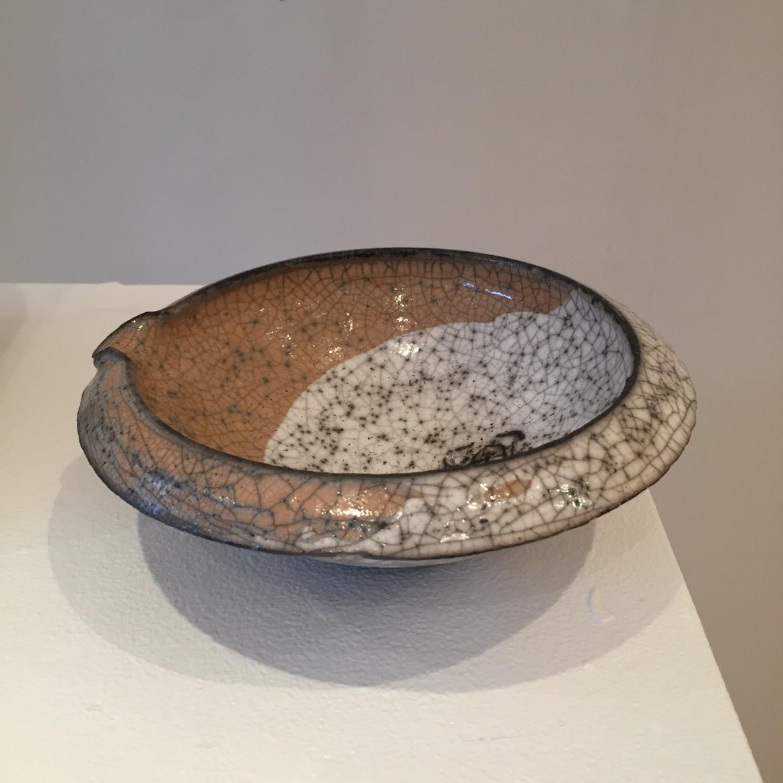 Peter Fulop, Bowl, small, raku ceramic, EUR 50