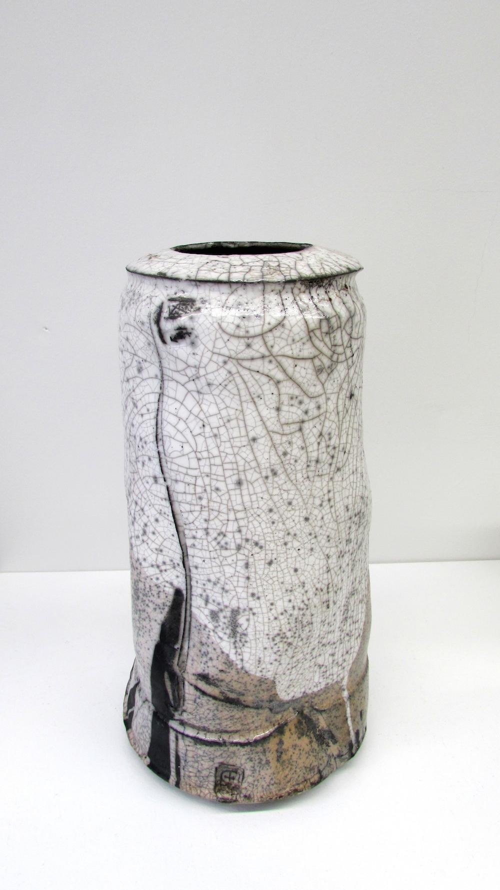 Peter Fulop, Haiku I, raku ceramic, 43x18cm EUR 420