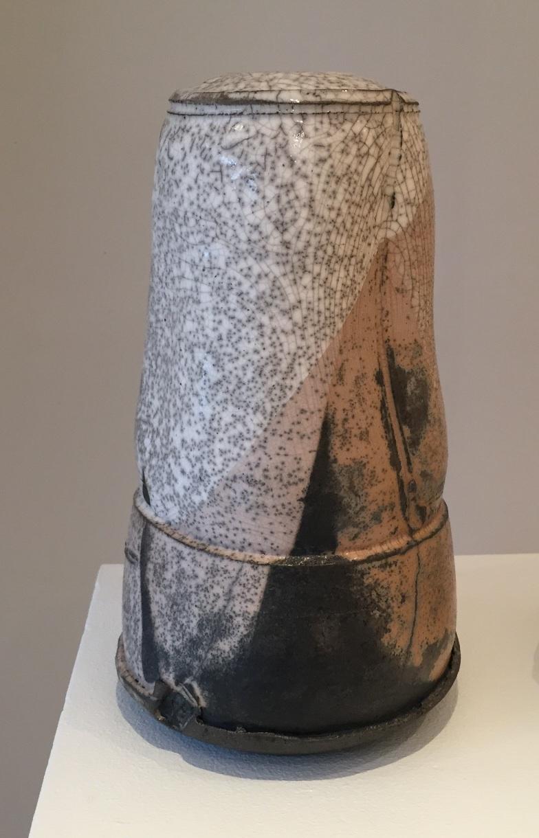 Peter Fulop, Haiku III, raku ceramic, 32x15cm, EUR 280