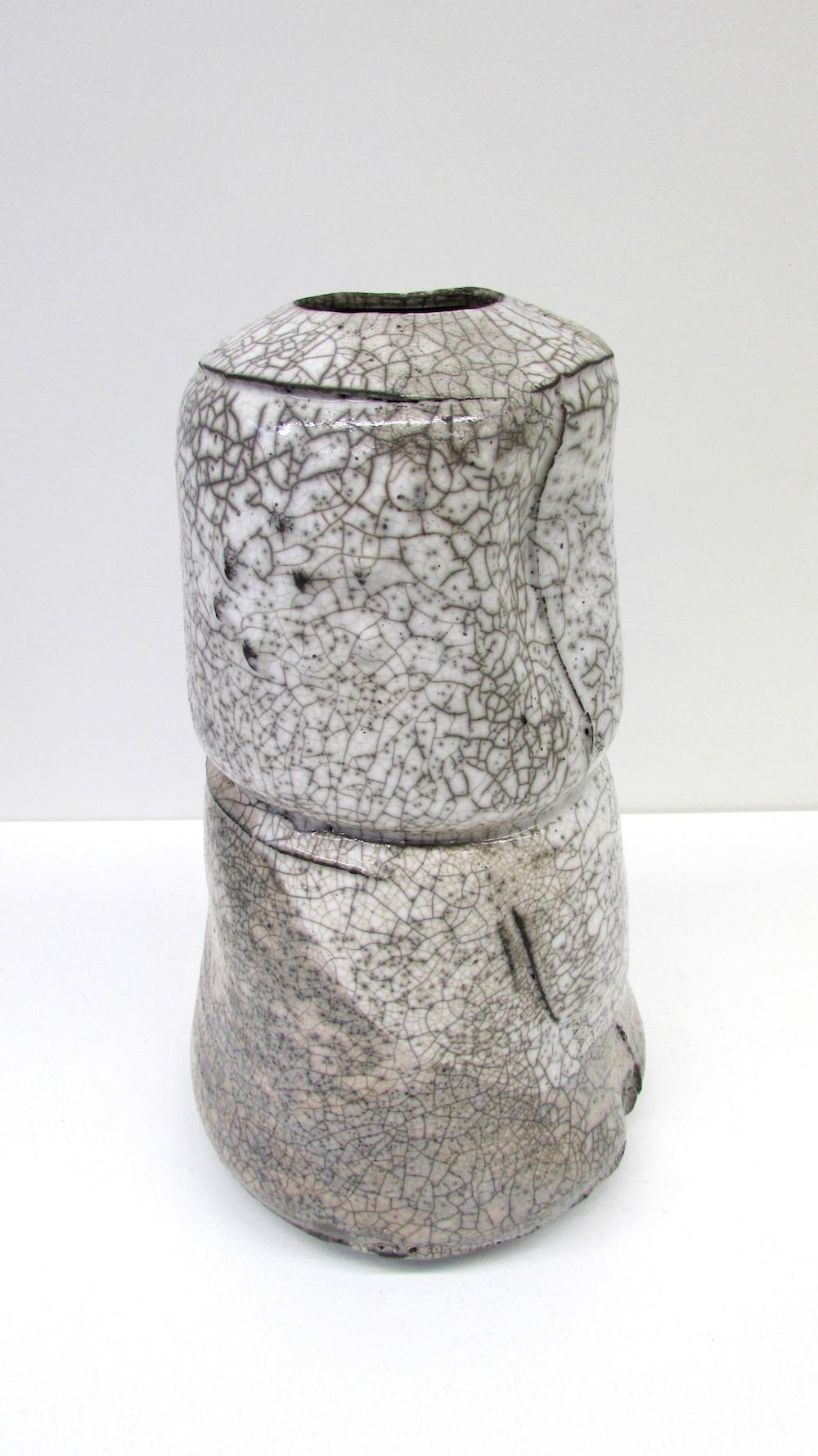 Peter Fulop, Haiku IV, raku ceramic, 30 x 13, EUR240