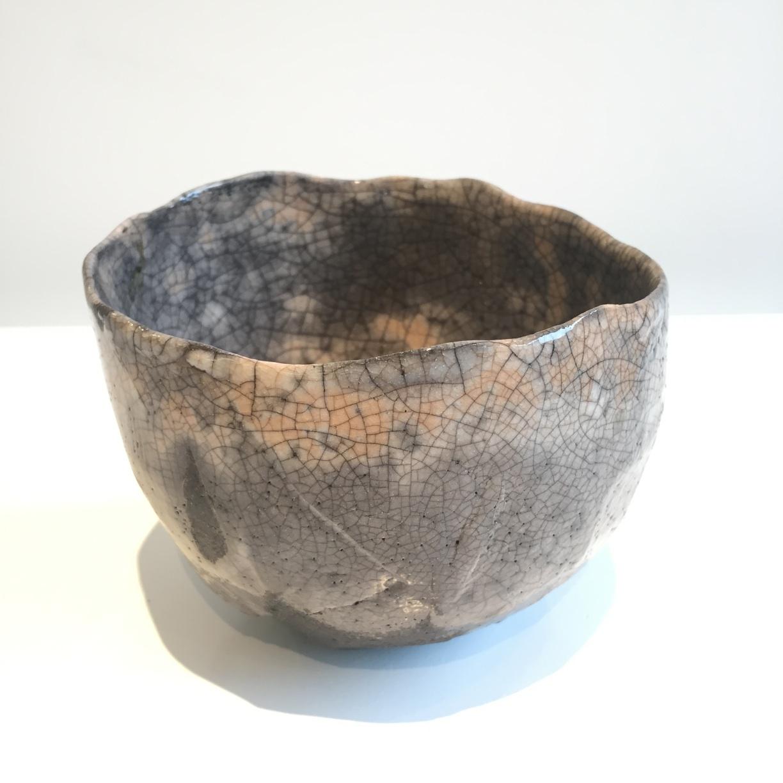 Peter Fulop, Japanese style tea bowl, raku fired ceramic, EUR120