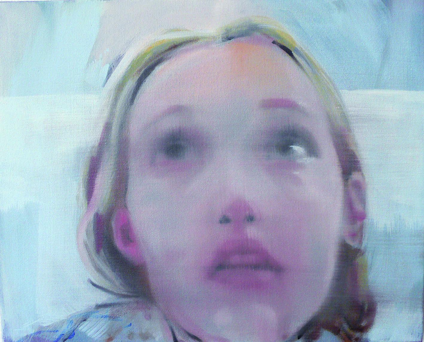 Helen O'Sullivan-Tyrrell, The Convalescent, oil on canvas, 2014