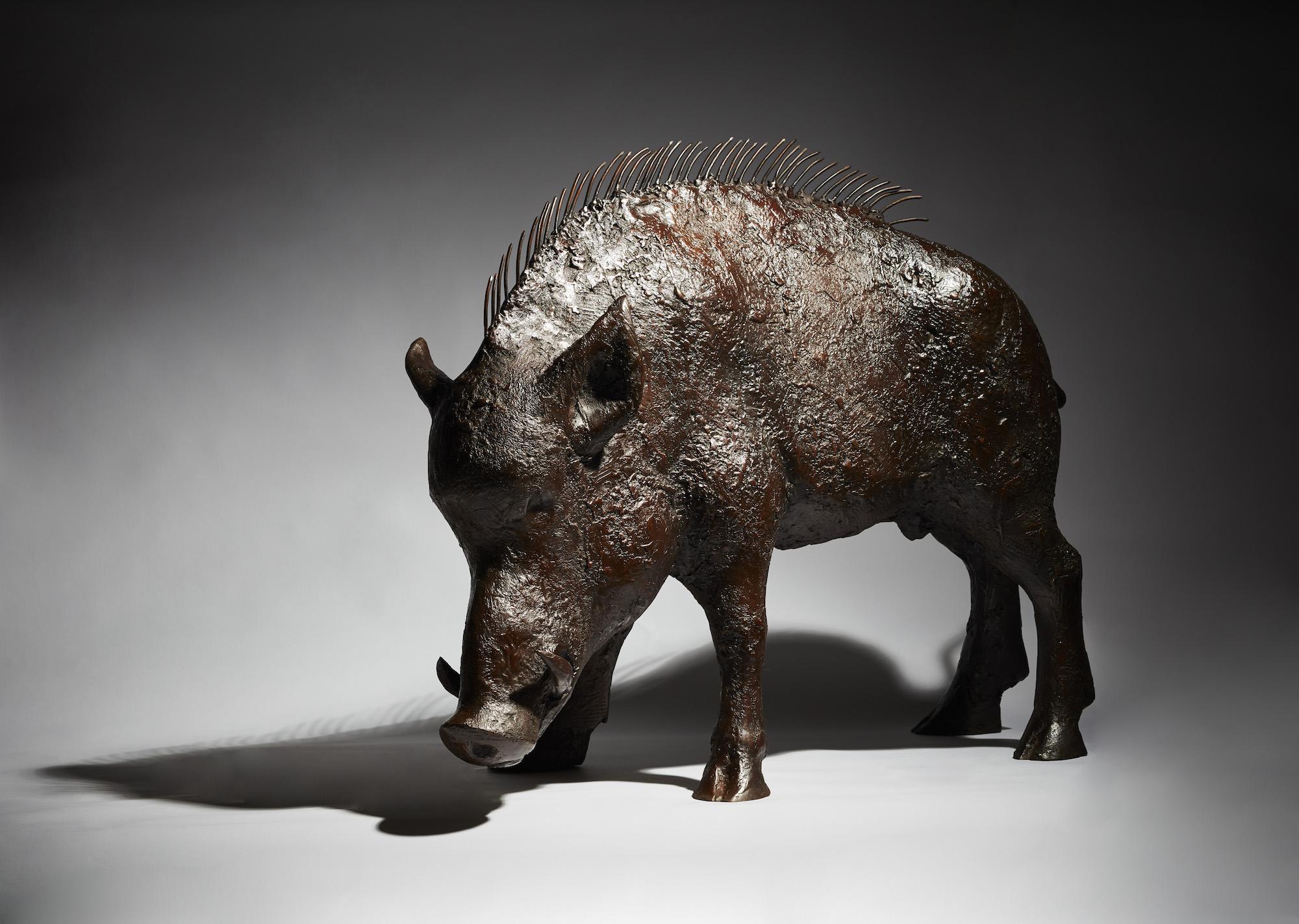 Still life of of fine art bronze sculpture