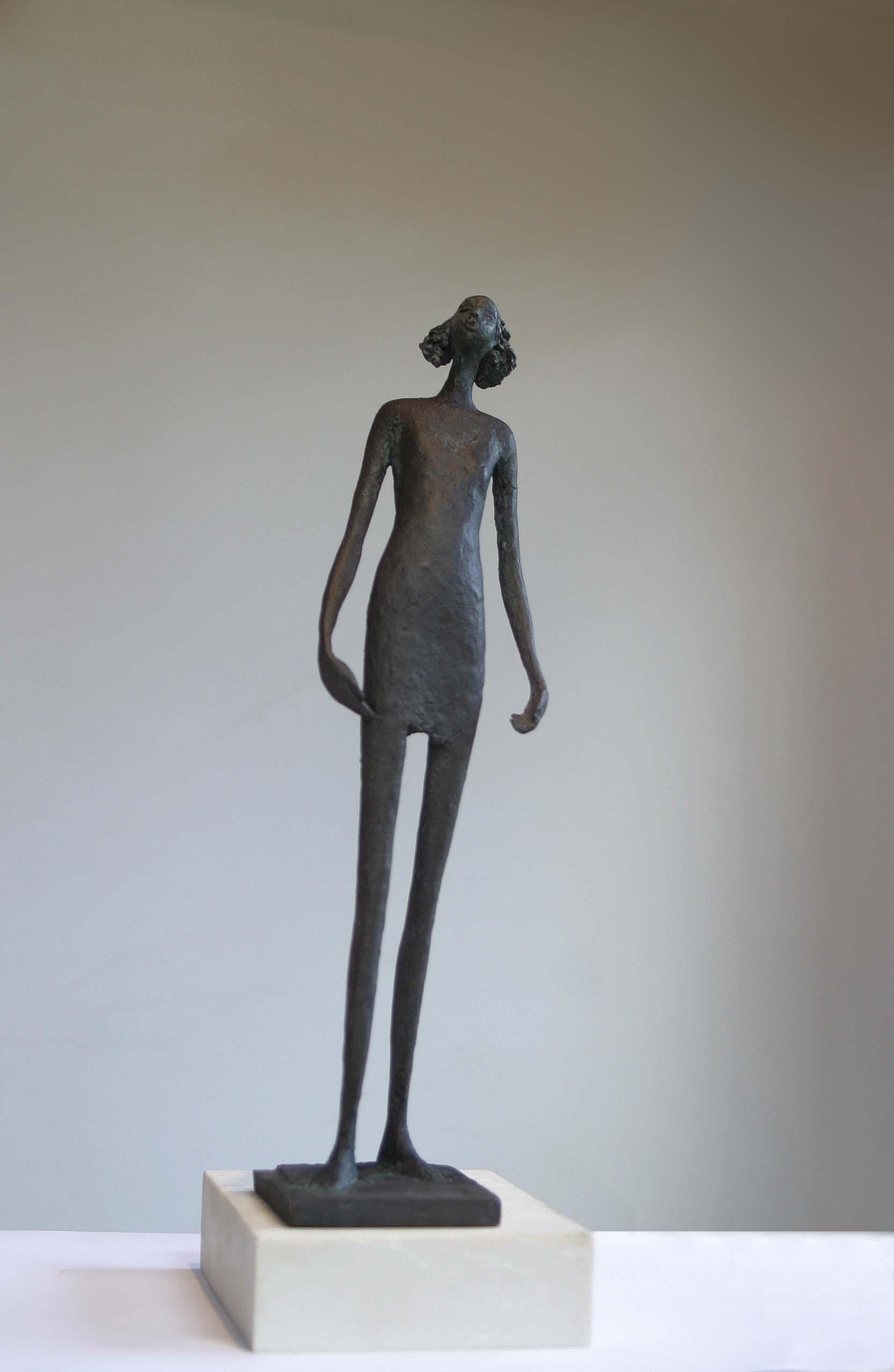 Bob Quinn, Seinn (tall version), Bronze ed of 7, 54 x 14 x 13 cm