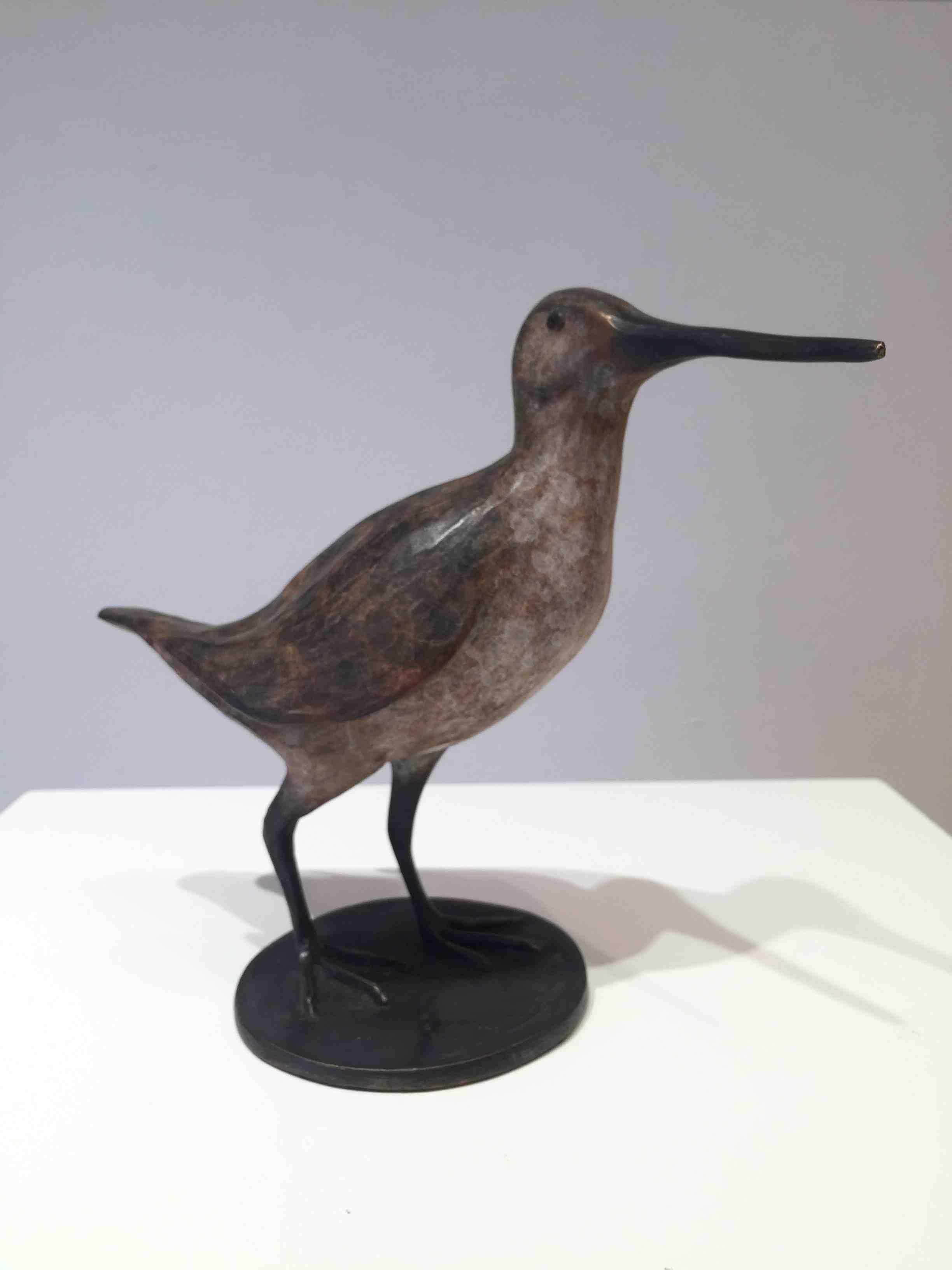 Fiona Smith, Snipe, bronze, AP, 21 x 24 x 11 cm