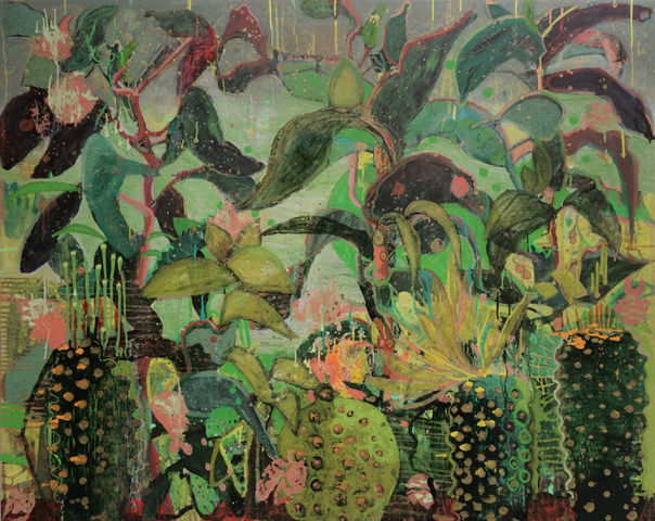 Frances Ryan, Kew I, oil on canvas, 120 x 150cm