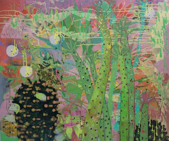 Frances Ryan, Studio Life I, oil on canvas, 120 x 150cm