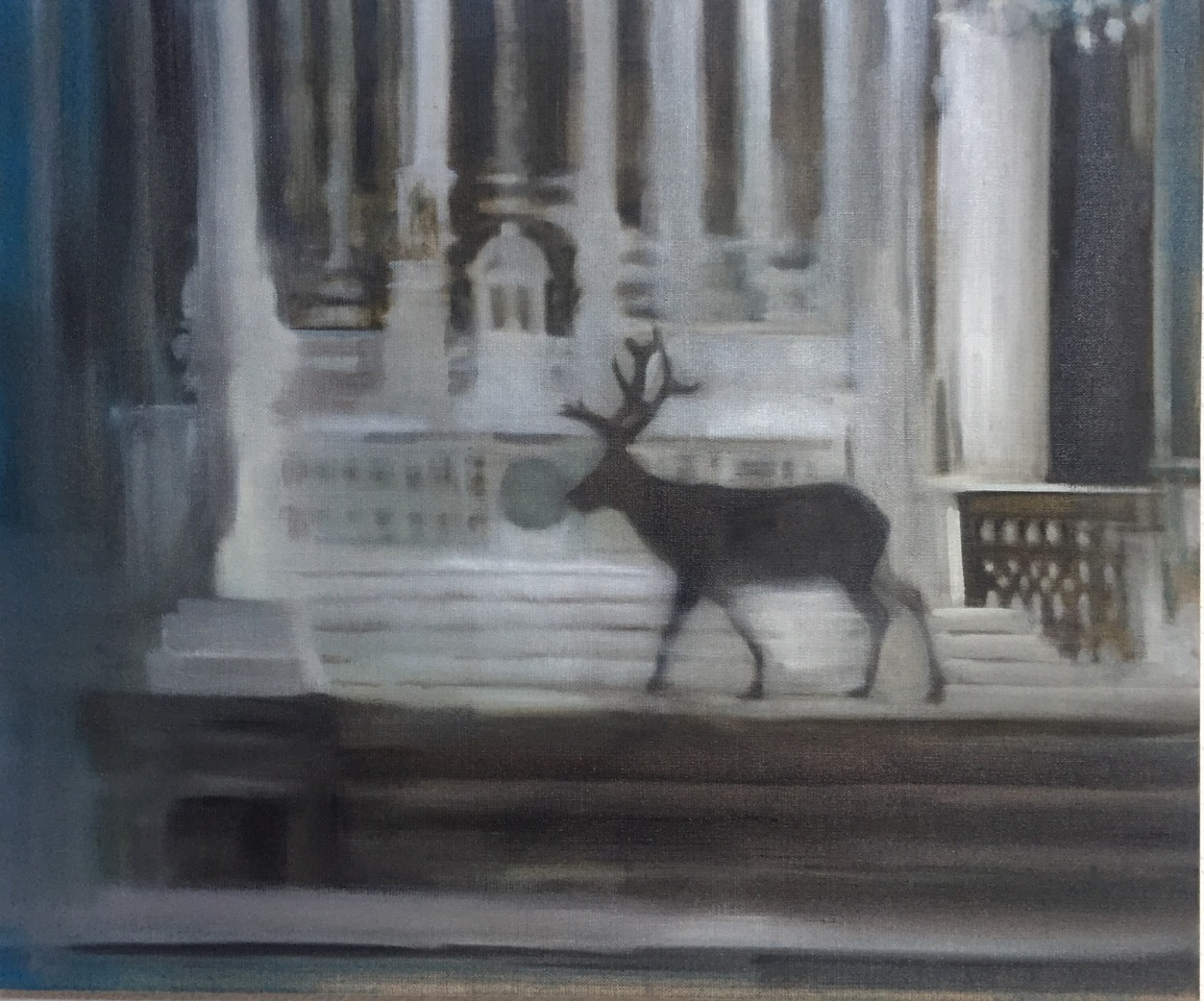 Helen O'Sullivan Tyrell, oil on canvas, 50 x 60 cm