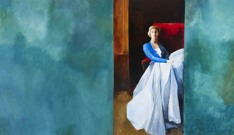 Margaret Egan, I Have Dreamed Dreams, 122 x 214 cm, acrylic on linen