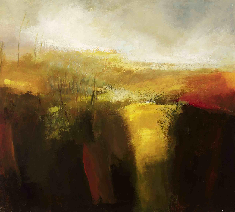 Margaret Egan, Loop Head III, 100 x 111 cm, acrylic on linen