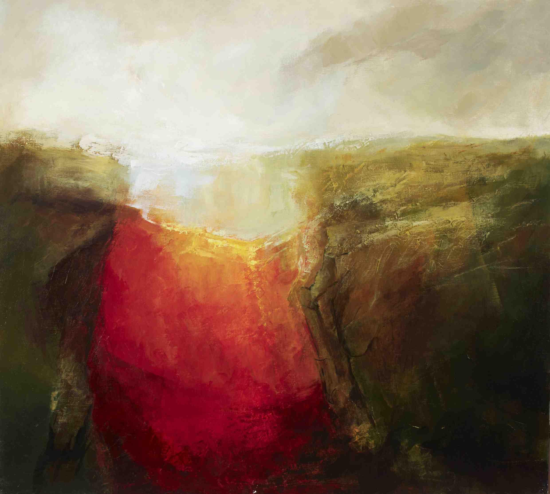 Margaret Egan, Loop Head II, 100 x 111 cm, oil on linen