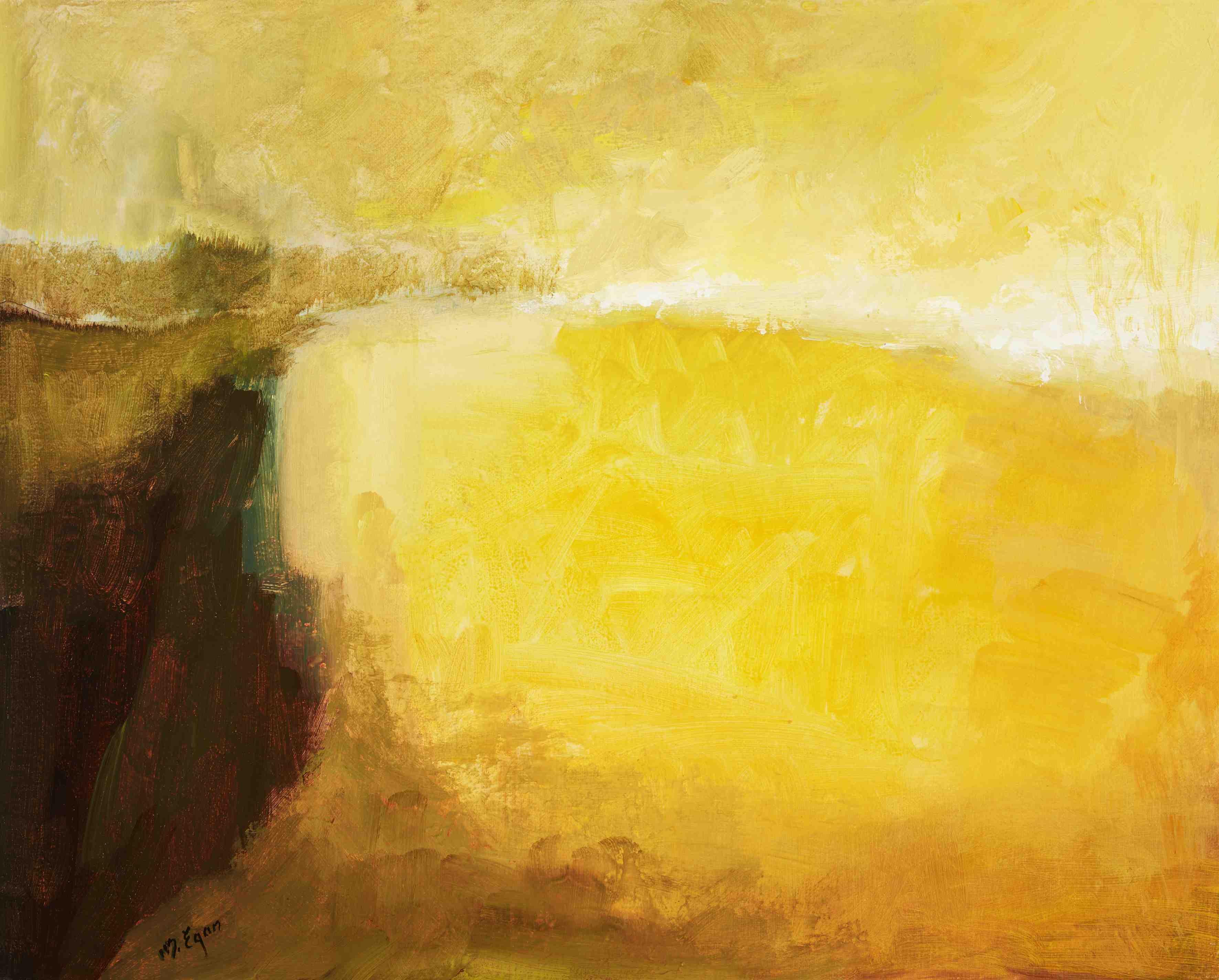 Margaret Egan, Seapoint I, 39 x 49 cm, acrylic on linen